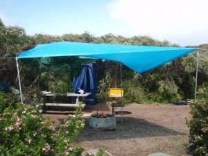 Camping at Pemberton, WA