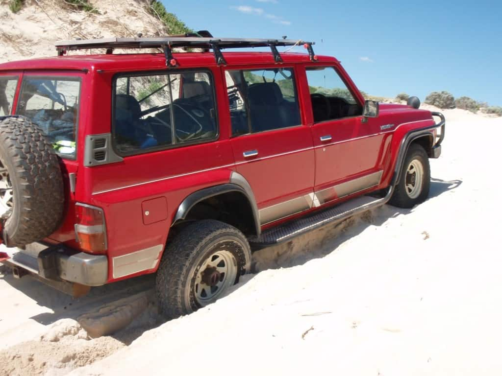 A standard 4wd with limited modifications