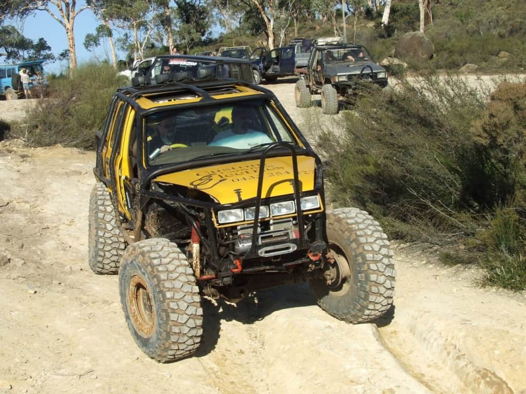 A 4wd set up for competitions