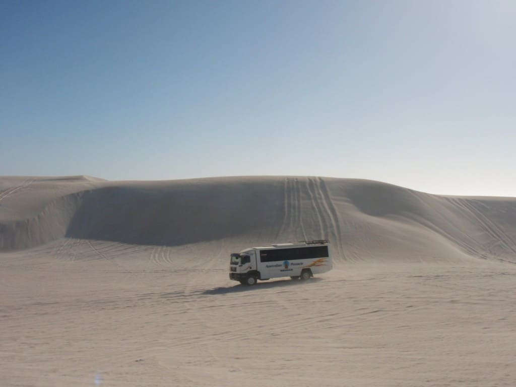 Four wheel drive tours at Lancelin