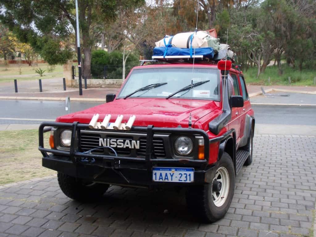 A Nissan Patrol GQ