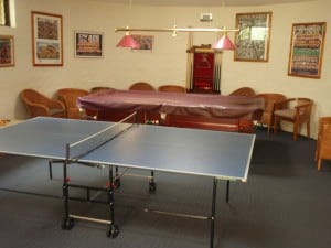 The adult games room