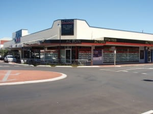 One of Busselton's many shops