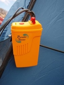 The Portable Shower unit
