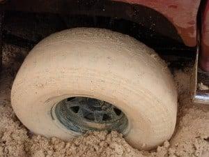 Steel Rims and Mud Terrain Tyres