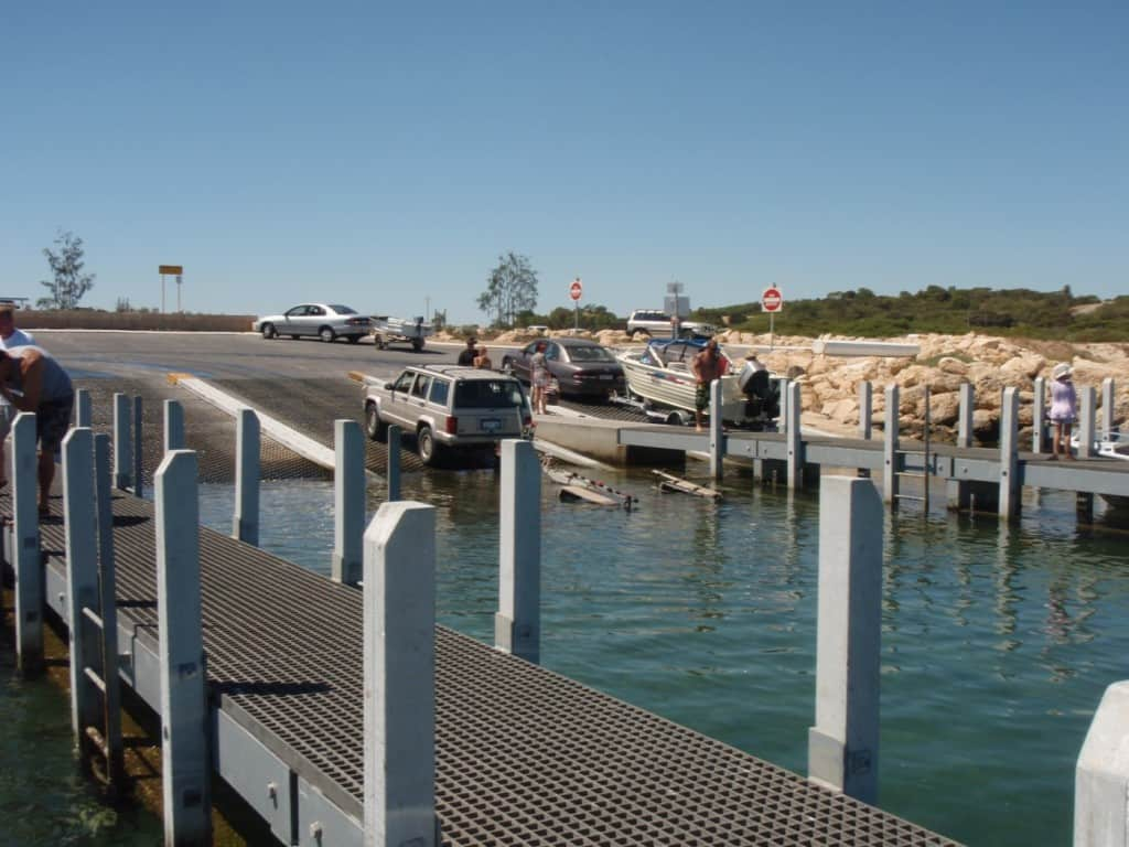 Woodman Point Boat Ramp