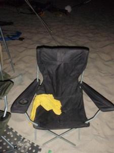 A cheaper camping chair