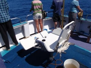 A Game Fishing Chair