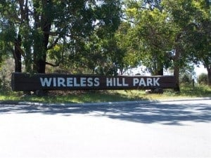 Wireless Hill Entrance