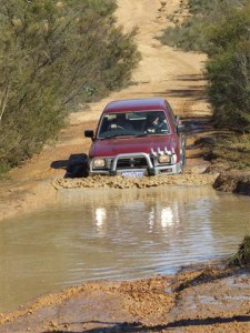 A water crossing at Mundaring