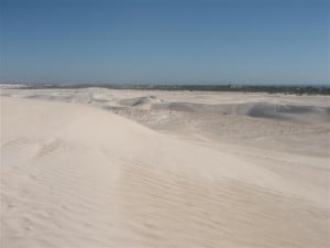 Enjoying the Lancelin Sand Dunes