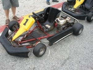 A Basic Go Kart at Wanneroo
