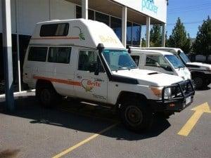 A 4x4 Campervan