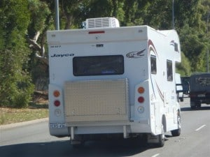 A full sized Campervan