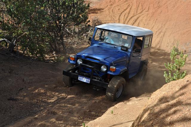 Do you know how to drive a 4wd?