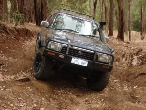 One of many ARB Bull Bars in the world