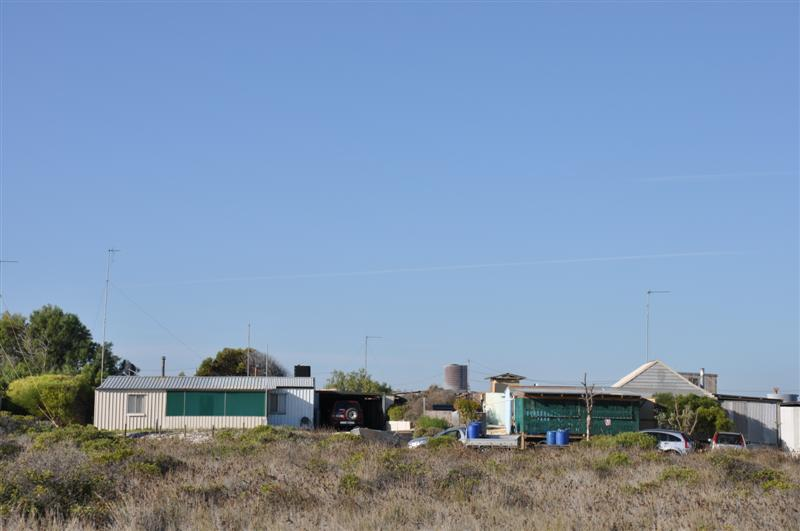 Beach Shacks at Wedge Island