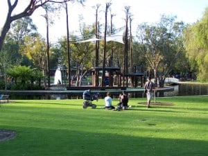 The playground at Kings Park