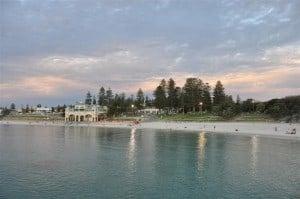 Cottesloe Beach when it is calm