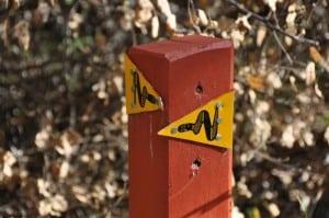 Bibbulmun Track signs