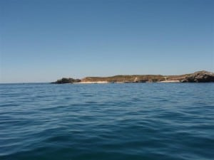 Carnac Island from behind
