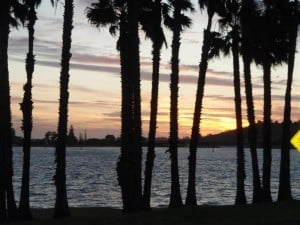 The Swan River from Perth Foreshore