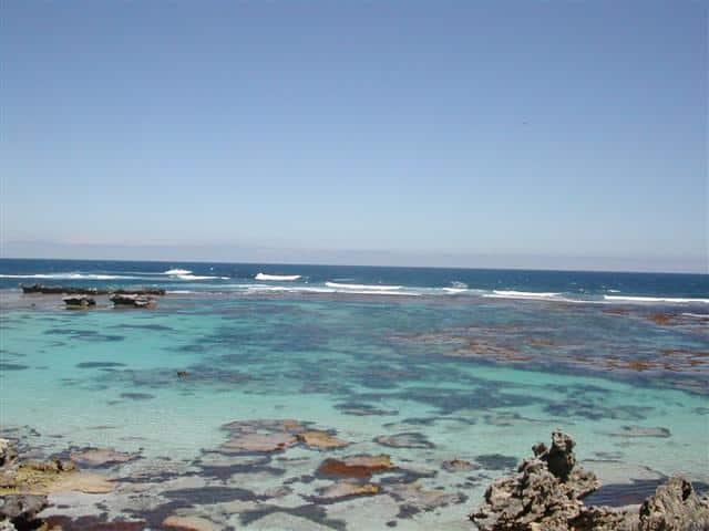 Pristine bay at Rottnest Island