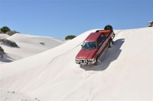 My Hilux at Lancelin