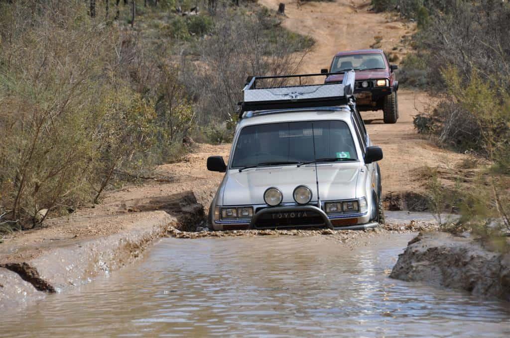 One of the water crossings at Mundaring