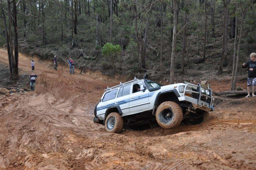 Some of the tracks at Mundaring Powerlines are very difficult