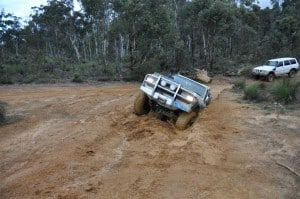 Panel damage is likely on 4x4 climbs like this