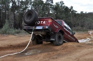 4wd recoveries need to be done safely