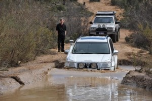 Water Crossings can damage your vehicle seriously if you aren't careful