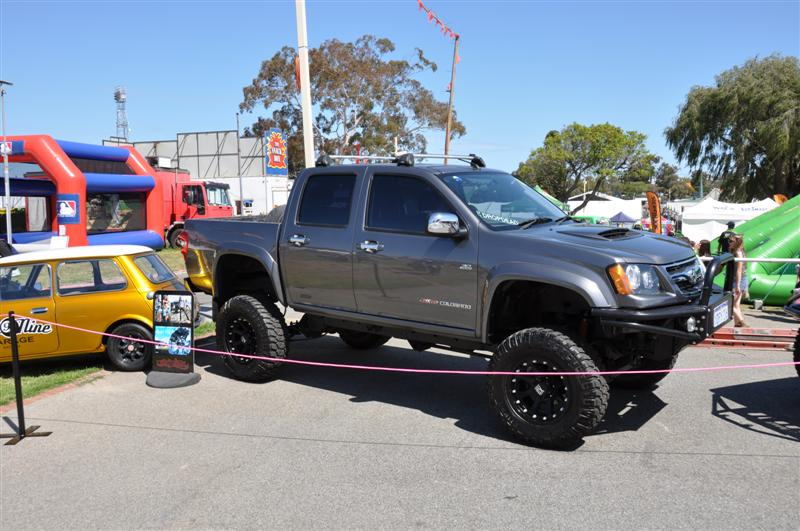 A Huge Lift On A Holden Colorado