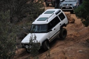 Safe descents require a bit of thought in your 4x4