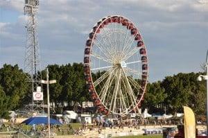 Perth Royal Show Ferris Wheel