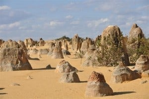The famous Pinnacles