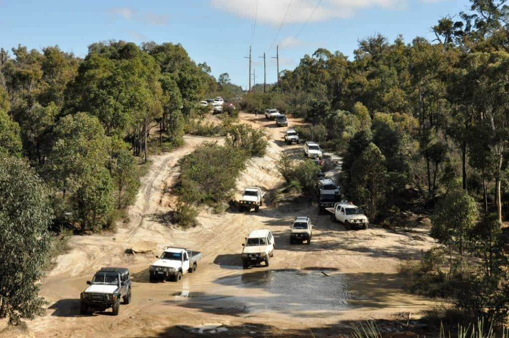 Mundaring Powerlines Track