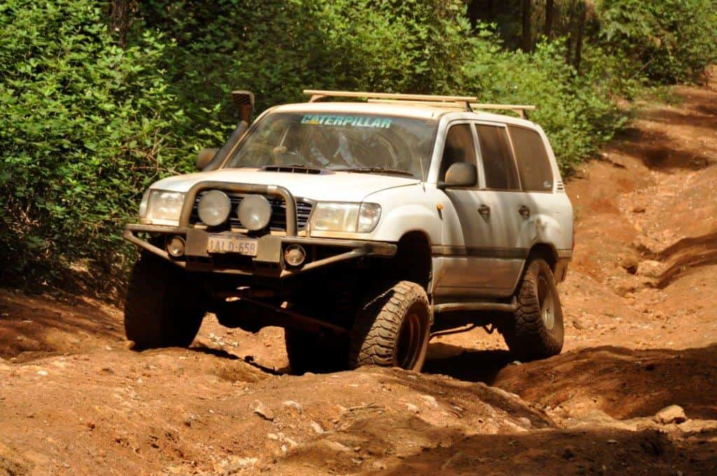 Enjoying the 4WD Tracks at Dwellingup