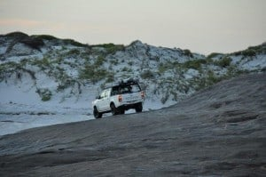 Rock 4x4 at Israelite Bay