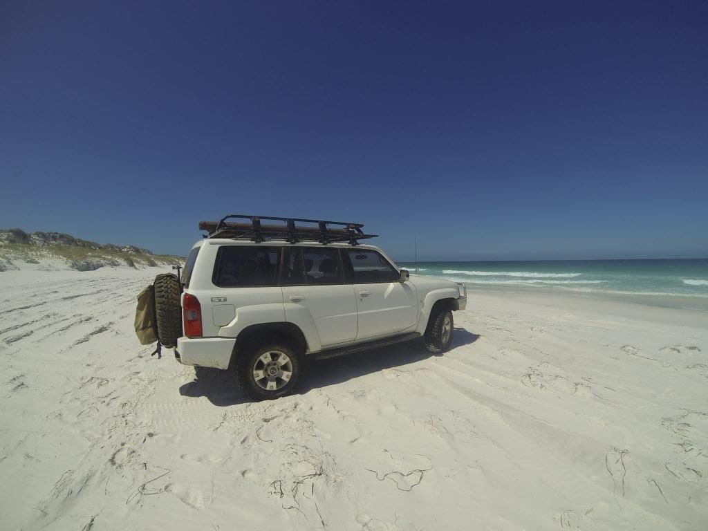 Israelite Bay beach