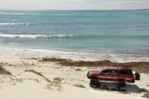 Sandy Cape Hilux 300x199 Camping Near Perth