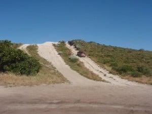 Wilbinga hill climbs in a 4WD