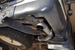 4x4 Accessories exhaust upgrade