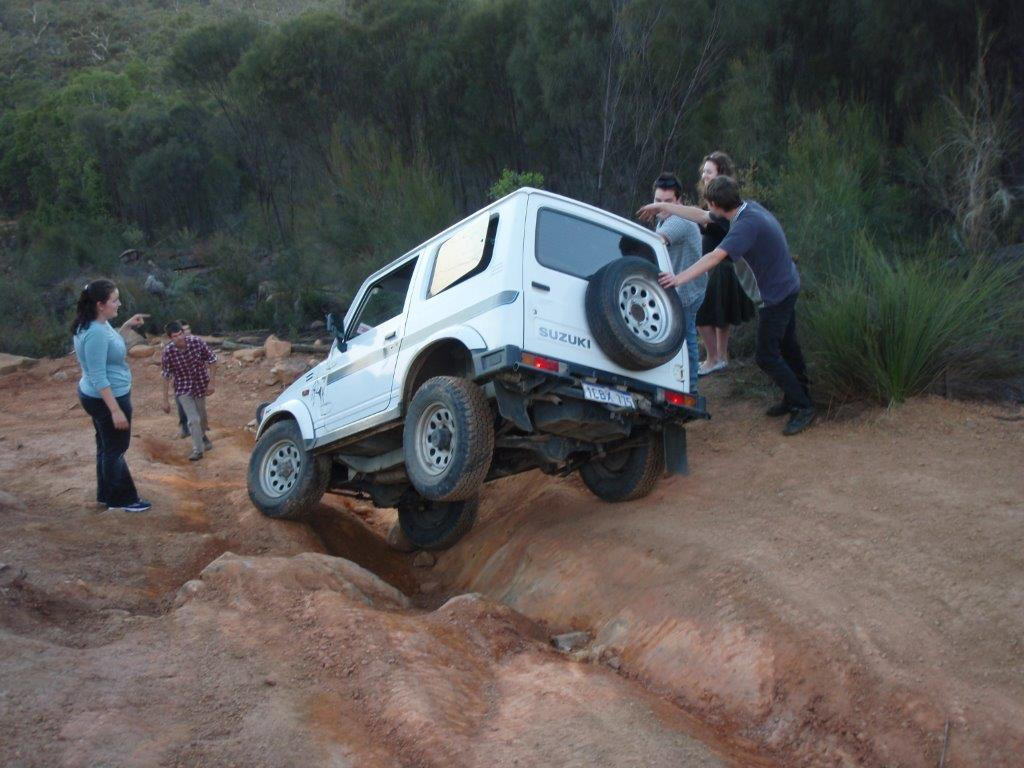 Safe 4WD Recovery