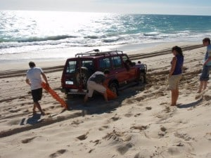 4WD Recovery with Maxtrax
