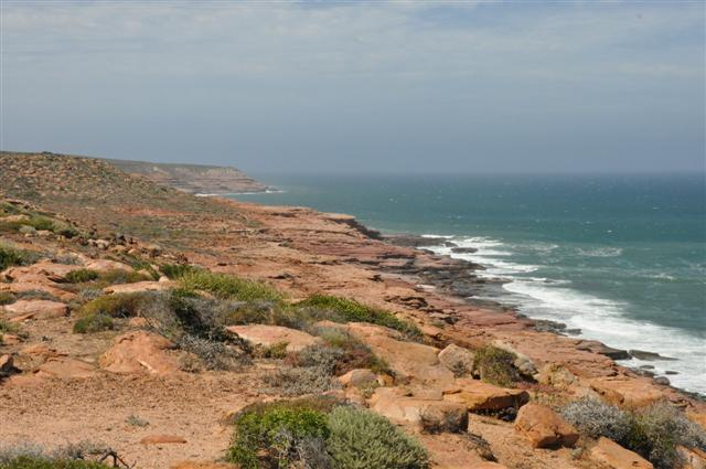 Incredible coastline at Kalbarri