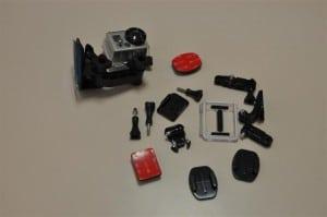 Gopro camera motorsport package