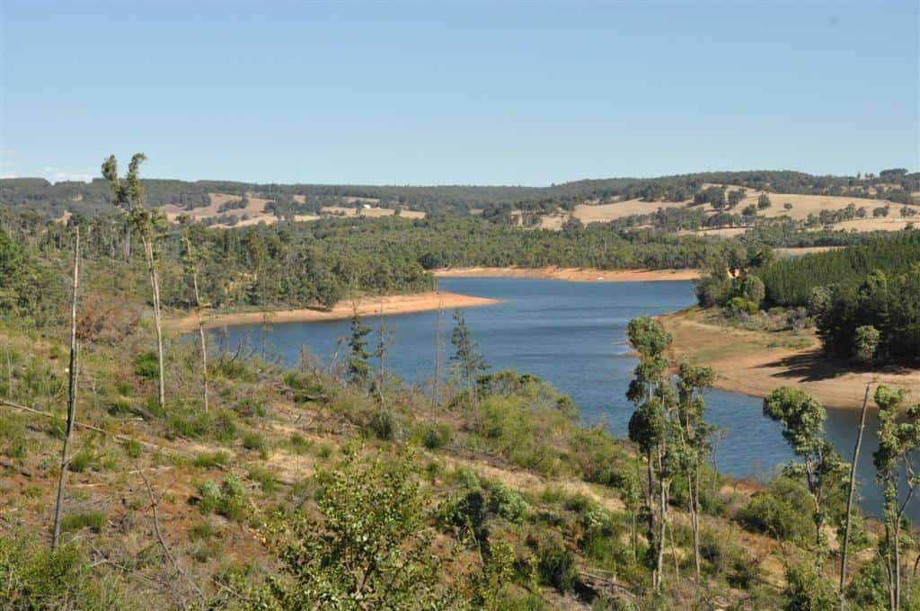Harvey Dam lookout