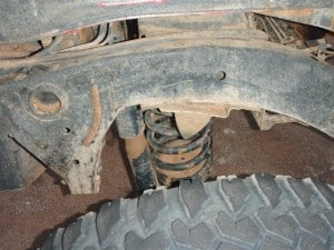 A coil spring and shock absorber 300x225 The importance of 4x4 Suspension